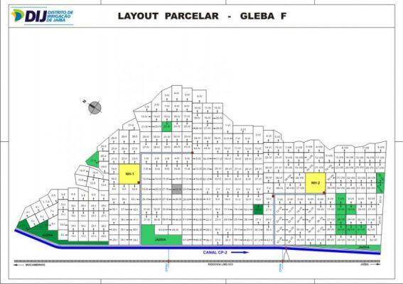 Gleba F - Layout Parcelar
