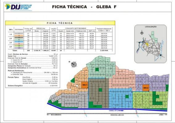Gleba F - Ficha T�cnica