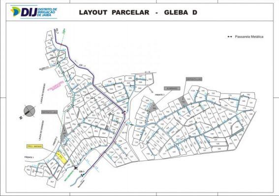 Gleba D - Layout Parcelar