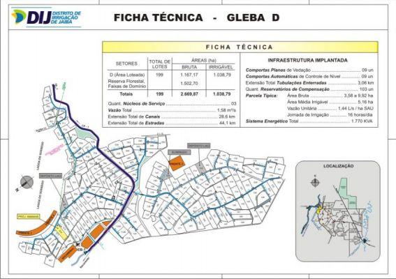 Gleba D - Ficha T�cnica