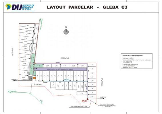 Gleba C3 - Layout Parcelar