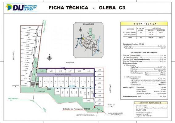 Gleba C3 - Ficha T�cnica