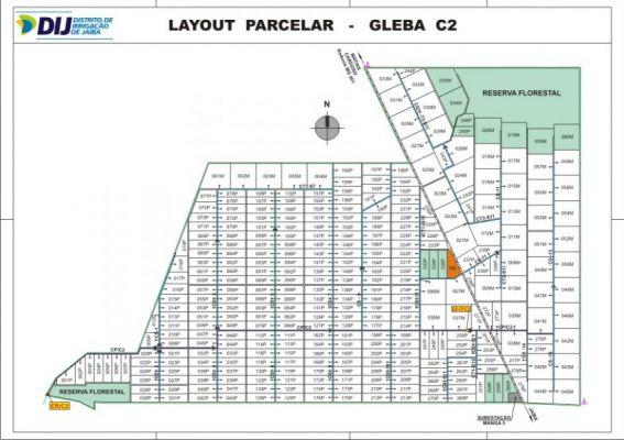 Gleba C2 - Layout Parcelar