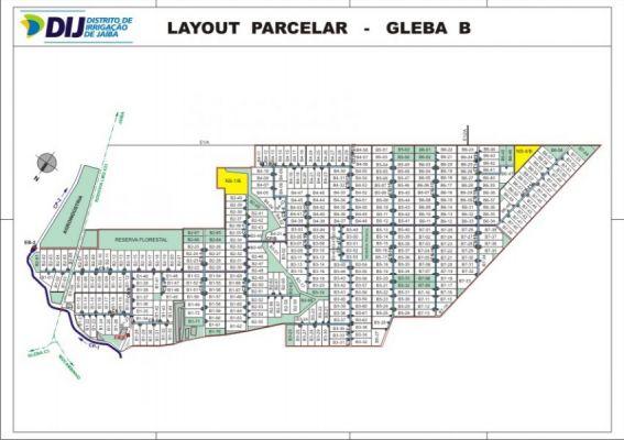Gleba B - Layout Parcelar