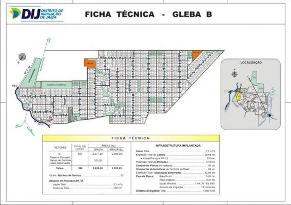Gleba B - Ficha T�cnica