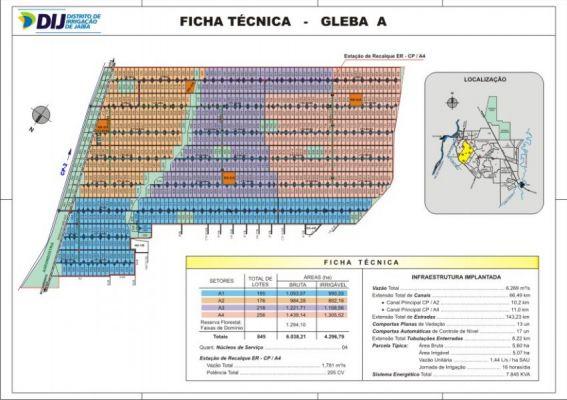 Gleba A - Ficha T�cnica