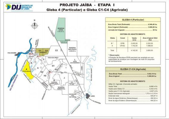 Layout Geral - Gleba 4 e C1-C4
